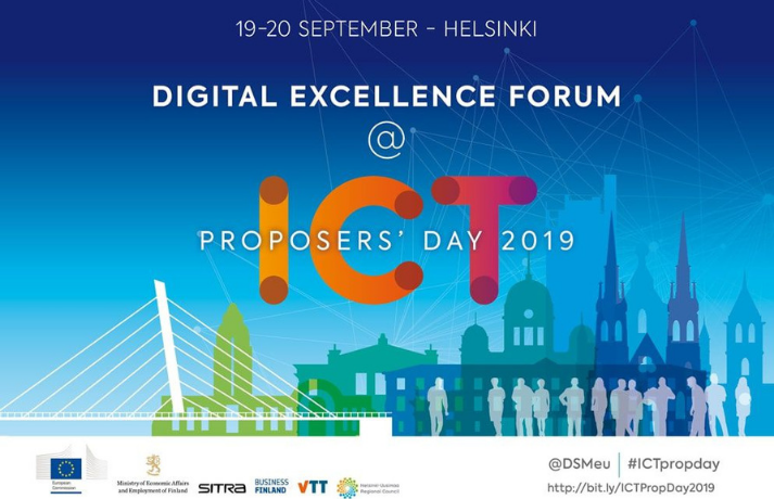 Digital Excellence Forum @ICT Proposers' Day 2019