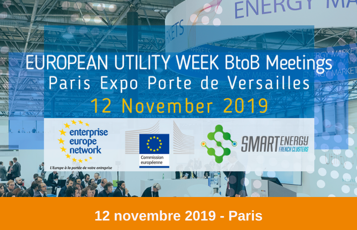 Brokerage Event - European Utility Week 2019